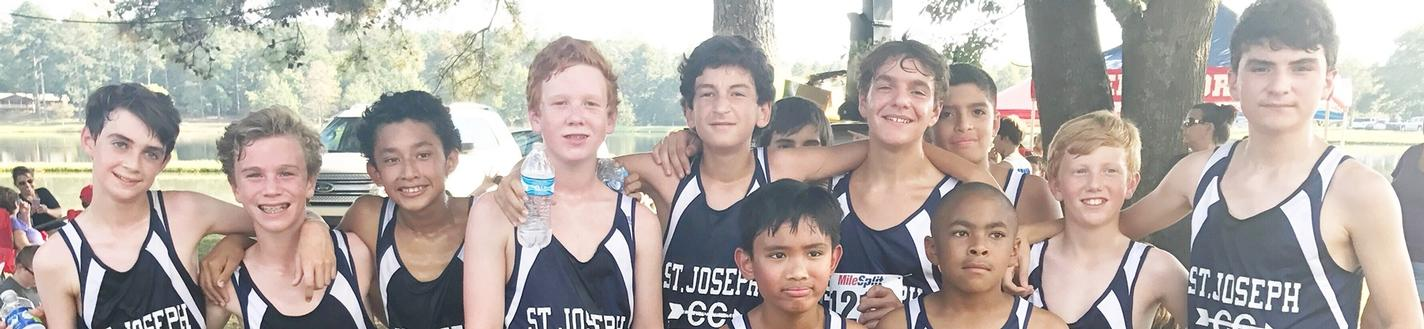 Boy's Cross Country Team