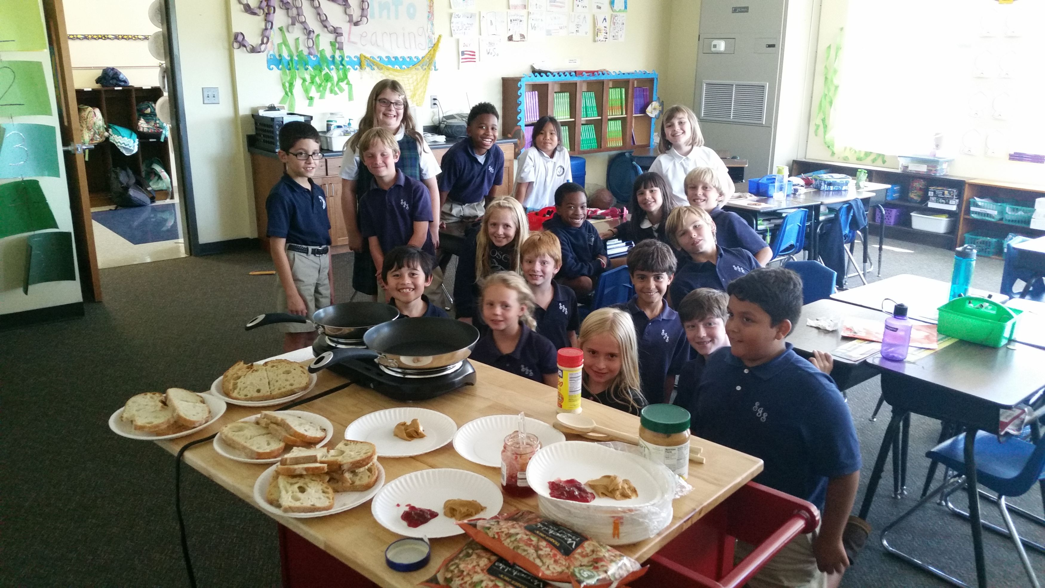 They Got To Apply This Skill Using A Handson Cooking Activity Students  Pared And Contrasted A